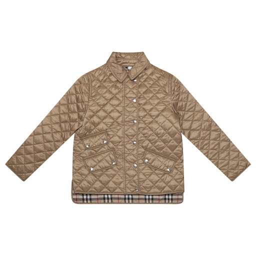 Primary image of Burberry Diamond Quilted Jacket
