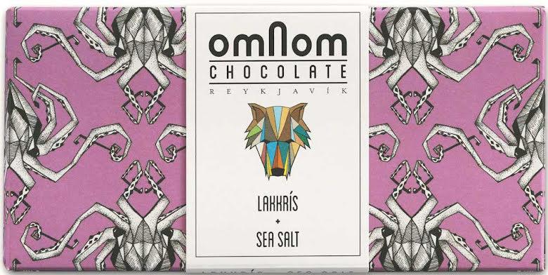 Lakrits + havssalt chokladkaka – Omnom Chocolate