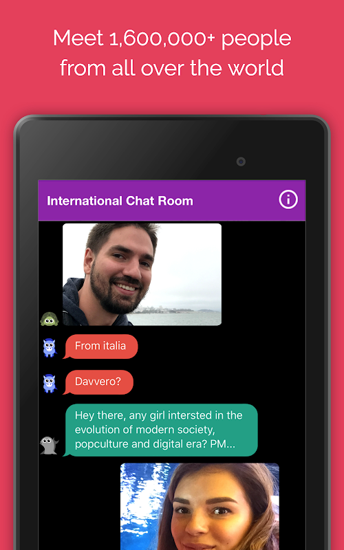 Anonymous Chat Rooms & Dating App Online screenshots
