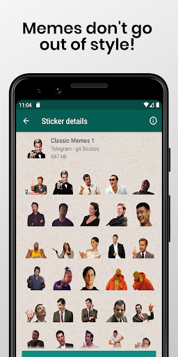 Stickers Collection for WhatsApp - WAStickerApps screenshot 6