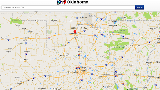 Oklahoma Map Android Apps On Google Play