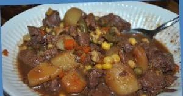 Canned Venison Stew Recipe
