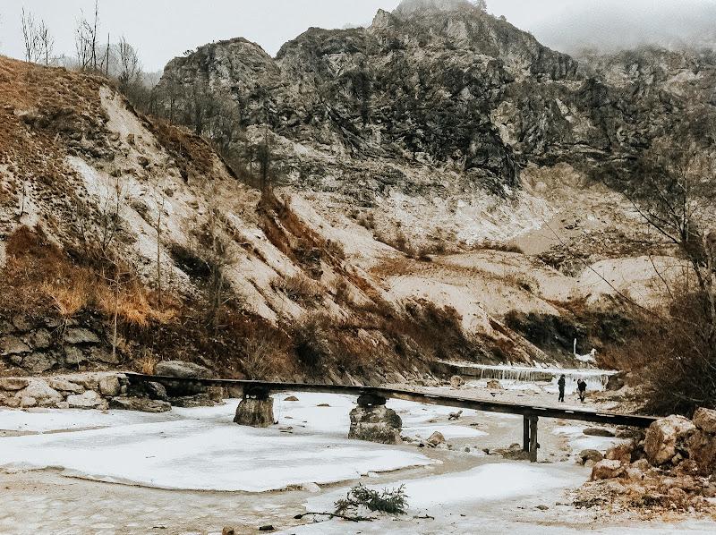 Roccia e ghiaccio di tubiamilaria