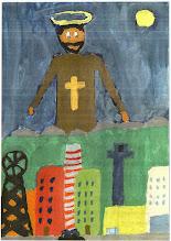 Photo: Praca konkursowa, 2001 r. Radek, lat 12.