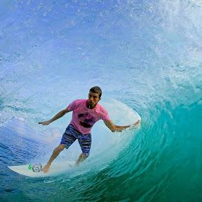 Standup BZ by Trevor Murphy - Sports & Fitness Surfing ( barrels, surfing, tmurphyphotography, randy townsend, costa rica )