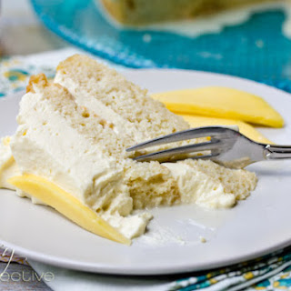 Tres Leches Cake Recipe with Mango Cream