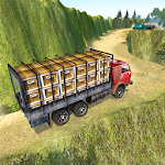 Off-Road Cargo Transporter Truck Driver Sim 2017 Icon