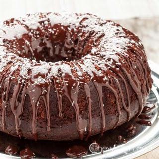 Chocolate Cognac Bundt Cake