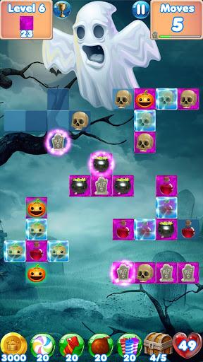 Halloween Games 2 - fun puzzle games match 3 games screenshots 3