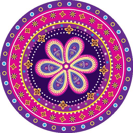 Mandala coloração para adultos