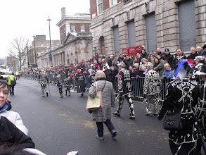 Photo: Pearly Kings and Queens.