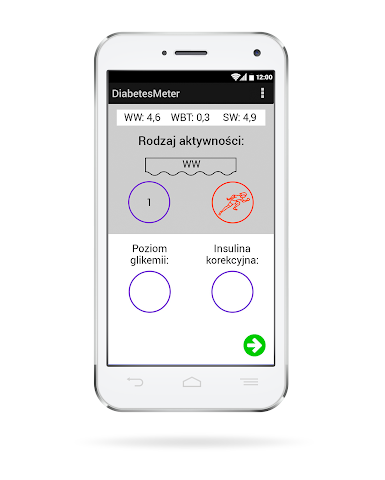 android DiabetesMeter Screenshot 2