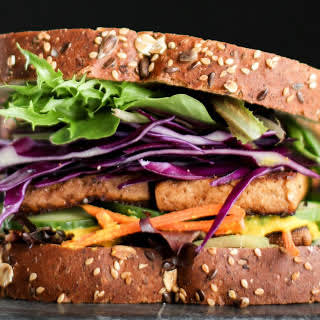 Marinated Tofu For Sandwiches or Salad [Vegan, Gluten-Free].