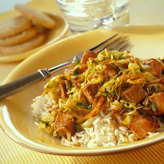 Mostly Mu Shu Pork.