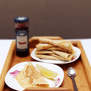 Wholemeal Crepes.