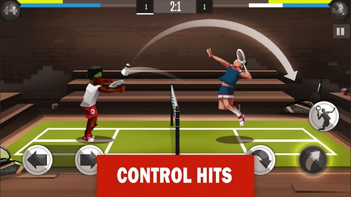 Badminton League Screenshot Image