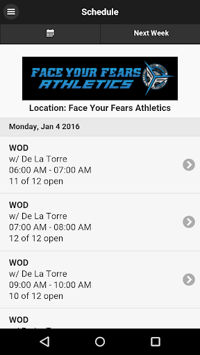 Face Your Fears Athletics
