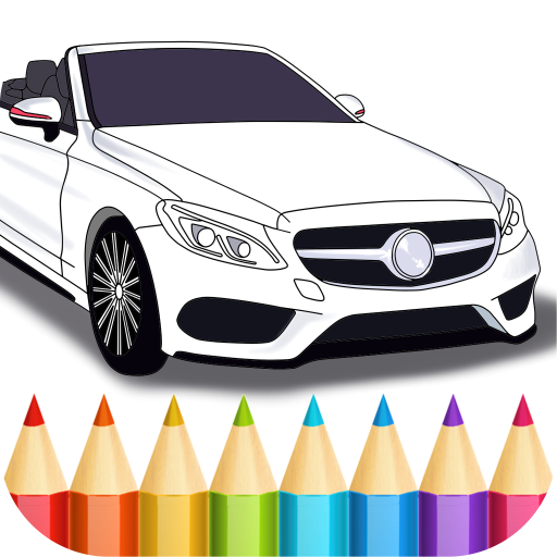 German Cars Coloring Book
