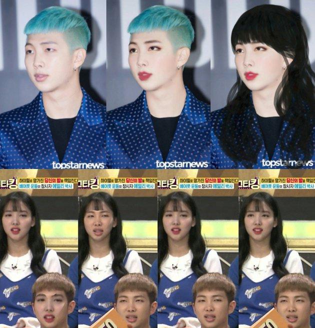kocak-foto-ini-ternyata-buktikan-nayeon-rap-monster-saudara-kembar