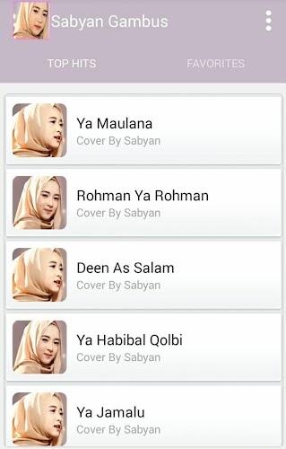 Download Sholawat Nissa Sabyan Gambus Top Hit APK latest