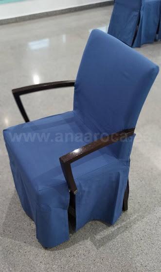 Funda de silla para resturante