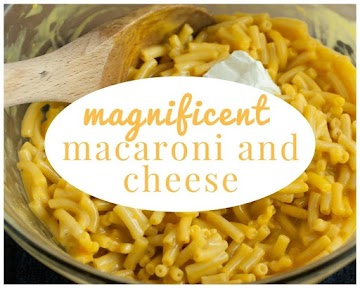Magnificent Macaroni And Cheese Recipe