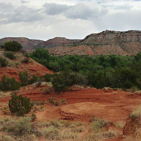 Palo Duro Canyon  by Sherry Dennis - Landscapes Mountains & Hills