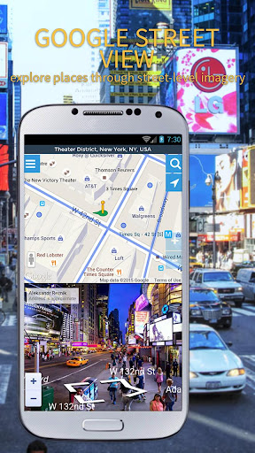 Maps, GPS Navigation & Directions, Street View screenshot 2