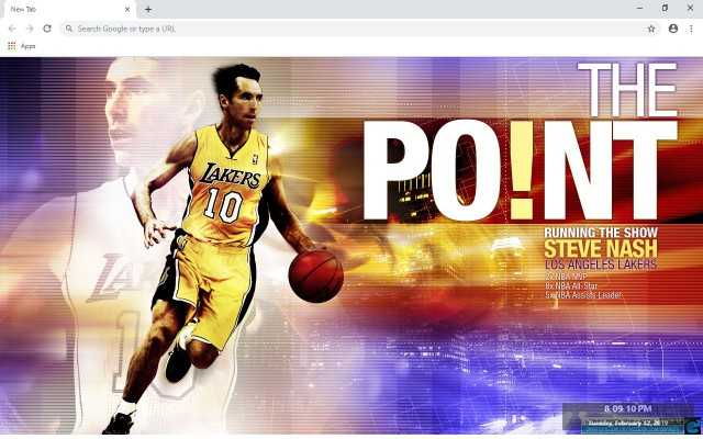 Steve Nash New Tab & Wallpapers Collection