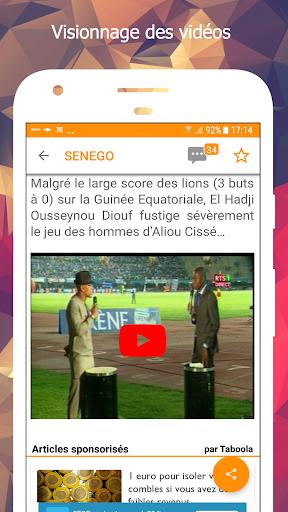 Senego: News in Senegal  screenshots 5