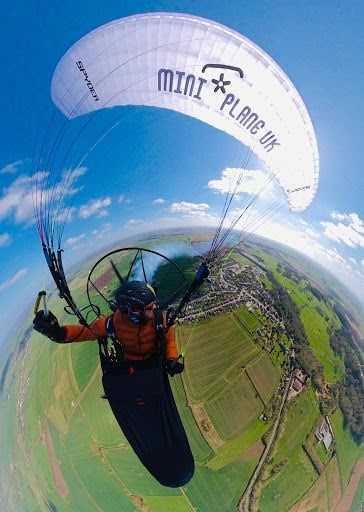 Blaise Brogan takes on the Icarus  paramotor race on a Miniplane