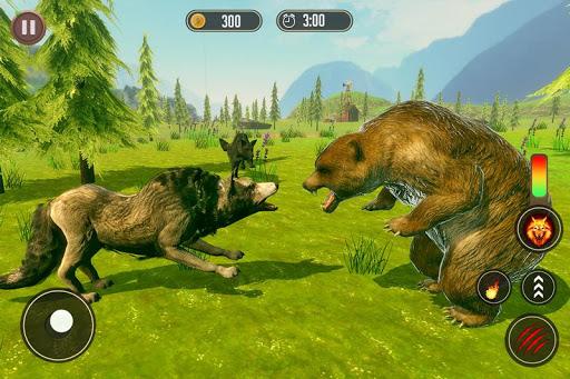Wolf Simulator: Wild Animal Attack Game 1.0 de.gamequotes.net 4