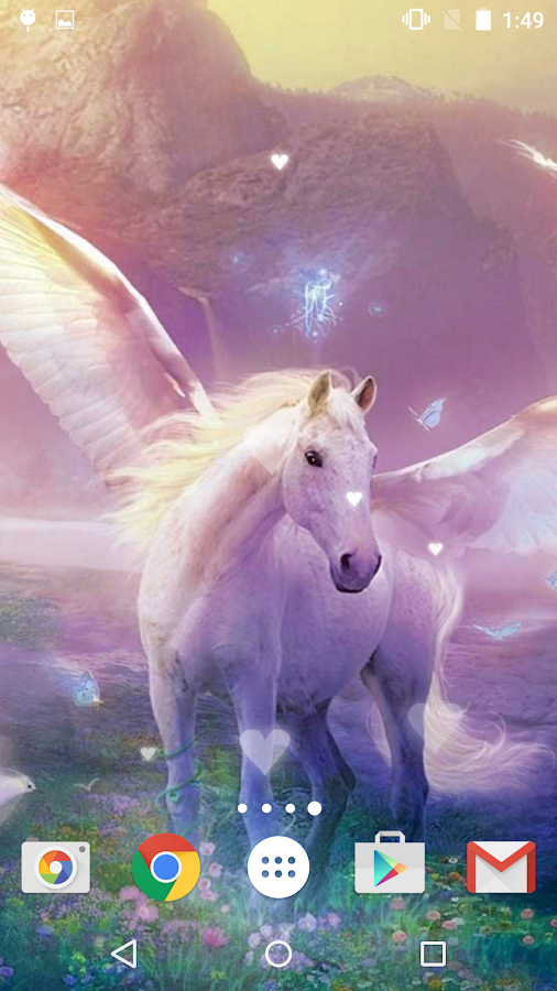 3d Effect Live Wallpapers Unicorn Live Wallpaper Android Apps On Google Play