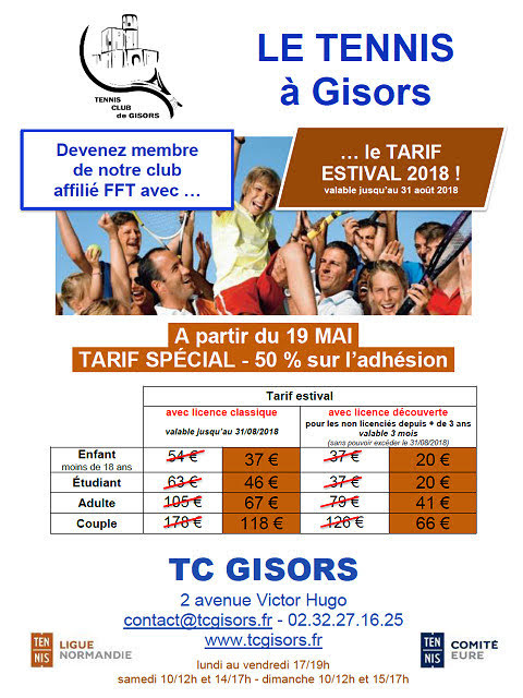 Tarif estival promotionnel