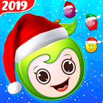 Christmas Fruit Blast - Santa Fun Game Icon