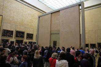 Photo: Down there, the portrait of Lisa Gherardini, wife of Francesco del Giocondo - Mona Lisa