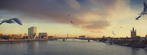 Photo: River Rhine / Cologne Panorama Have a nice Sunday!