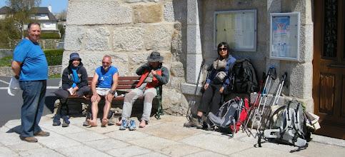 Photo: Quelques pèlerins fatigués