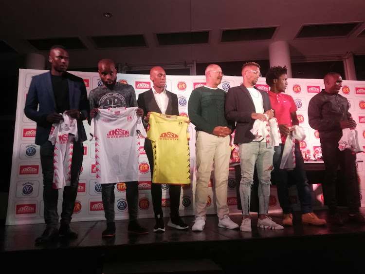 Highlands Park unveiled six players during a player awards ceremony in Sandton on July 16 2019.