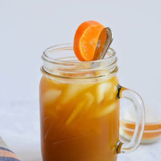 Turmeric Iced Tea.