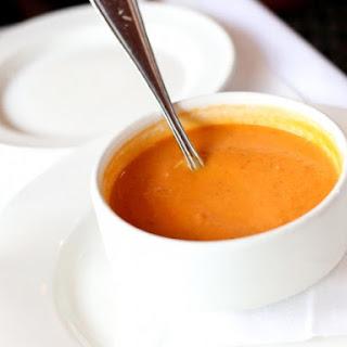 Butternut Squash Soup With Vanilla Essence.