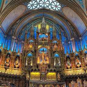 Basilique Notre-Dame de Montréal by Dmitriy Andreyev - Buildings & Architecture Other Interior