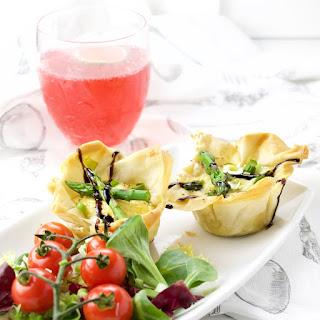 Mini Asparagus Quiches