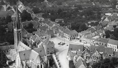 Photo: 1926 Luchtfoto dorpskern Princenhage