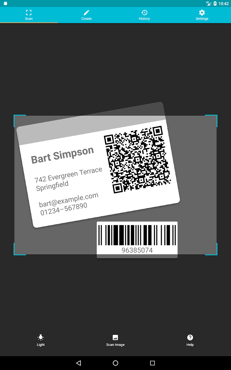 QR & Barcode Scanner (Pro) Screenshot 8