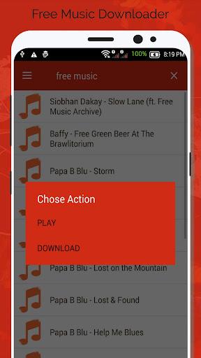 Free Music Downloader - Mp3 Download  screenshots 3