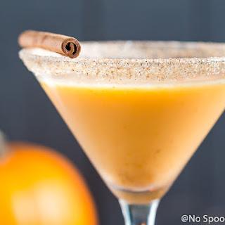Pumpkin Pie Martini.