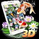 Koi Fish Aquarium 3D Theme file APK Free for PC, smart TV Download
