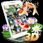 Koi Fish Aquarium 3D Theme Icon