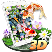 Koi Fish Aquarium 3D Theme
